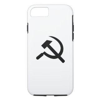 Hammer & Sickle Pictogram iPhone 7 Case
