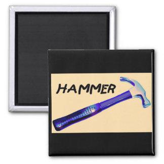 Hammer Square Magnet