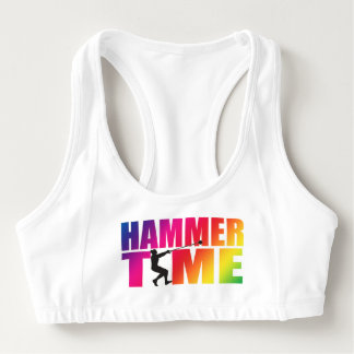 Hammer Throw Track and Field Sports Bra