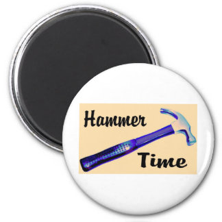 Hammer Time 6 Cm Round Magnet