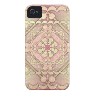 Hammered Gold & Glass iPhone 4 Case