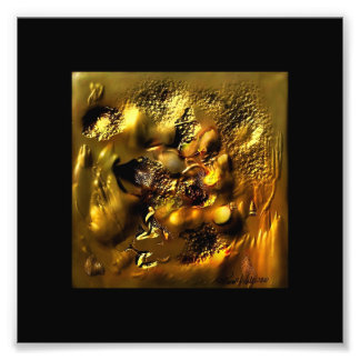 Hammered Gold Photo