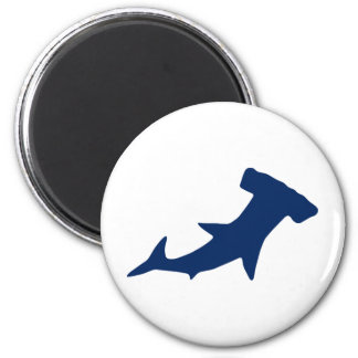 Hammerhead Shark 6 Cm Round Magnet