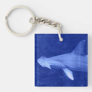 Hammerhead Shark Acrylic Keychain