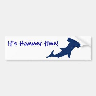 Hammerhead Shark Bumper Sticker