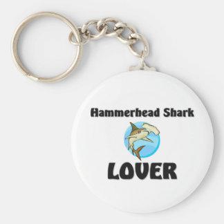 Hammerhead Shark Lover Key Ring