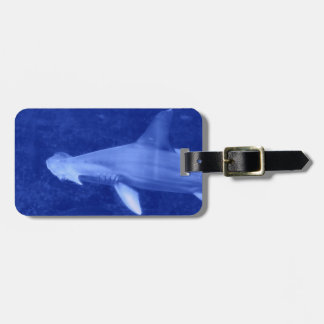 Hammerhead Shark Luggage Tag