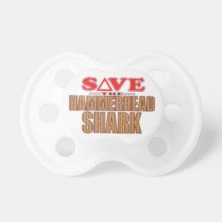 Hammerhead Shark Save Pacifiers