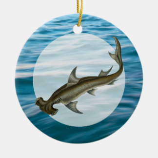 Hammerhead Shark Sea Life Christmas Ornament