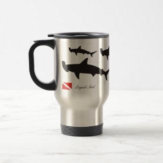 Hammerhead Shark - Travel Mug Caneca