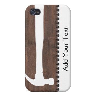 Hammers and Nails Construction iPhone 4 Case