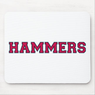 hammers mouse pad