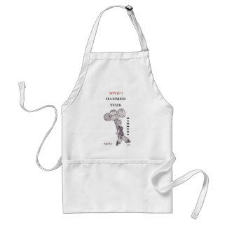 Hammers - stop hammer time standard apron