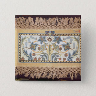 Hammersmith Rug', c.1880 15 Cm Square Badge