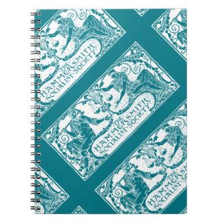Hammersmith Socialist Society Aqua Notebook