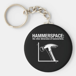 hammerspace: the other dimension of hammertime. key ring