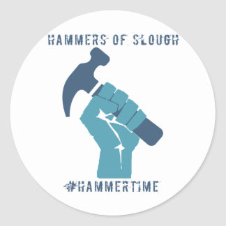 #HammerTime Classic Round Sticker