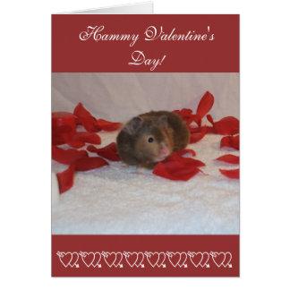 Hammie Valentine's Day Greeting Card