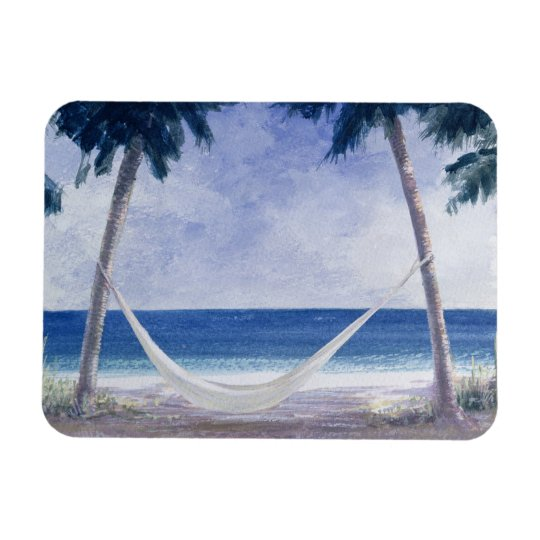 Hammock 2005 rectangular photo magnet