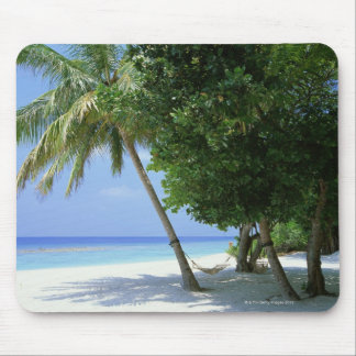 Hammock and Palm Tree Mouse Mat