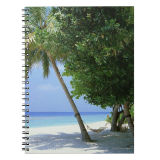 Hammock and Palm Tree Notebook