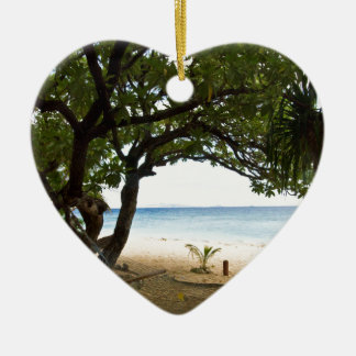Hammock at South Sea Island, Fiji Christmas Ornament