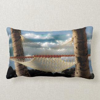 Hammock by the Ocean Lumbar Cushion