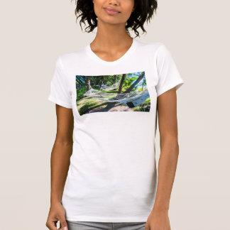 Hammock on the beach, Fiji T-Shirt