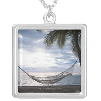 Hammock Silver Plated Necklace