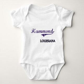 Hammond Louisiana City Classic Baby Bodysuit