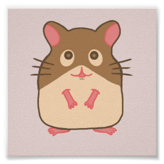 Hammy Hamster Poster