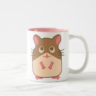 Hammy Hamster Two-Tone Coffee Mug
