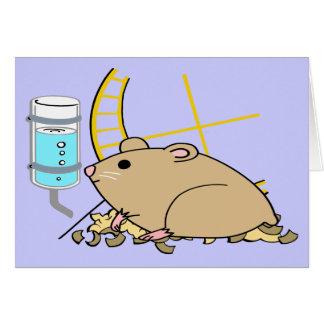 Hammy the Hamster Card