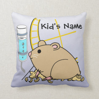 Hammy the Hamster Cute Kid's American MoJo Pillows