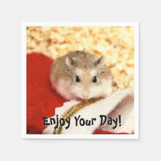 Hammyville - Cute Hamster Disposable Serviette