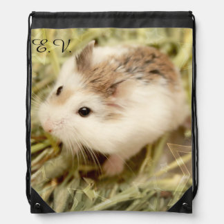 Hammyville - Cute Hamster Drawstring Bag