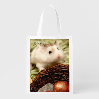 Hammyville - Cute Hamster Reusable Grocery Bag