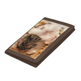 Hammyville - Cute Hamster Tri-fold Wallet