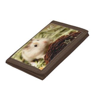 Hammyville - Cute Hamster Trifold Wallet