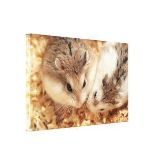 Hammyville - Cute Hamsters Canvas Print