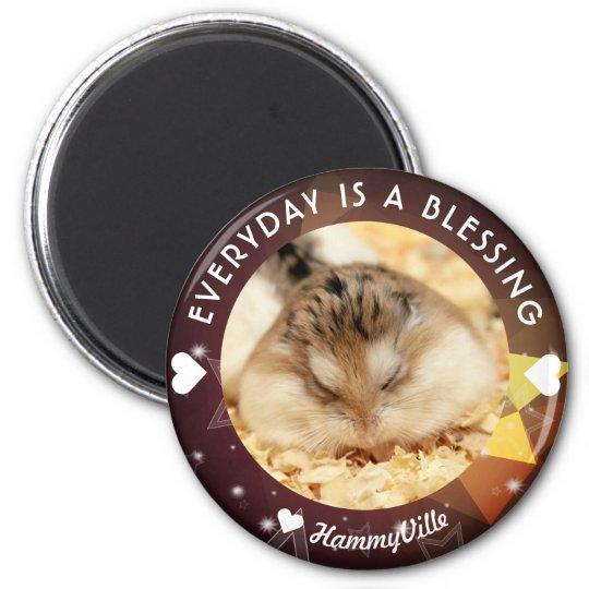 Hammyville - Cute Robo Hamster Magnet