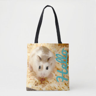 Hammyville - Hamster Hello Tote Bag