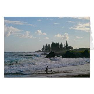 Hamoa Beach Greeting Card