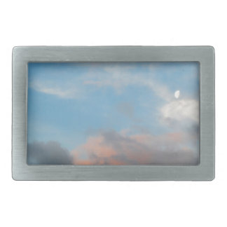 Hampshire Sky Rectangular Belt Buckle