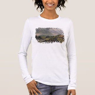 Hampstead Heath, Branch Hill Pond, 1828 Long Sleeve T-Shirt