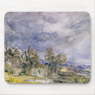 Hampstead Heath from near Well Walk, 1834 (w/c) Mouse Pad