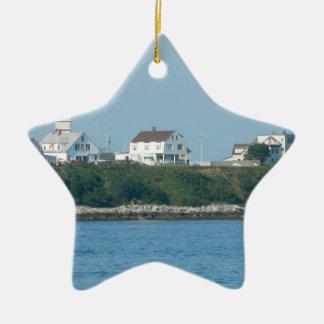 Hampton Beach - Beach Houses Christmas Ornament