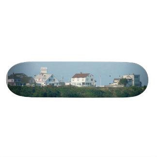 Hampton Beach - Beach Houses Custom Skate Board