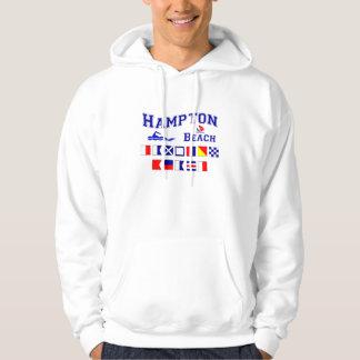 Hampton Beach, NH Hooded Pullovers