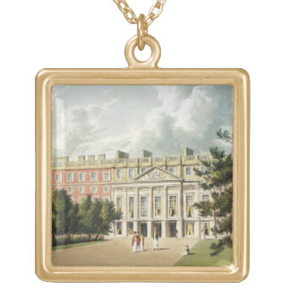 Hampton Court Palace, from 'The History of the Roy Gold Plated Necklace